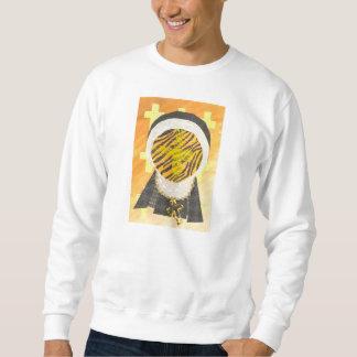Hot Cross Bun Nun Men's Jumper Sweatshirt