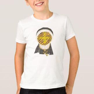 Hot Cross Bun Nun No Background Kid T-Shirt