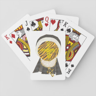 Hot Cross Bun Nun Playing Cards