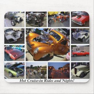 Hot Cruise-in Rides and Nights Mouse Pads