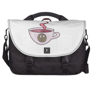 HOT CUP OF COFFEE COMMUTER BAG