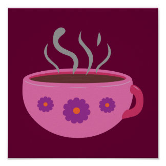 Hot Cup of Coffee Poster