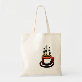 Hot Cup Tote Bags