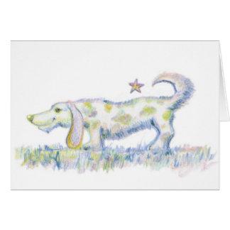 Hot DIggity Dog Greeting Card