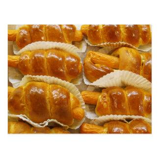 Hot Dog Cake ... Asian Dessert Food Post Cards