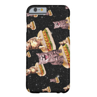 hot dog cat invasion barely there iPhone 6 case