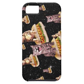 hot dog cat invasion iPhone 5 cover