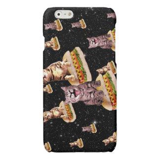 hot dog cat invasion iPhone 6 plus case
