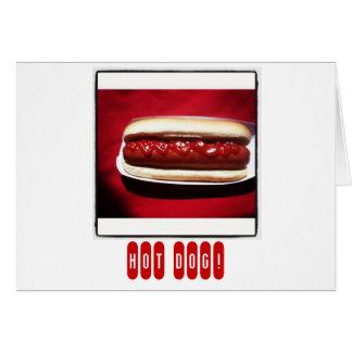 Hot Dog Congratulations Greeting Card
