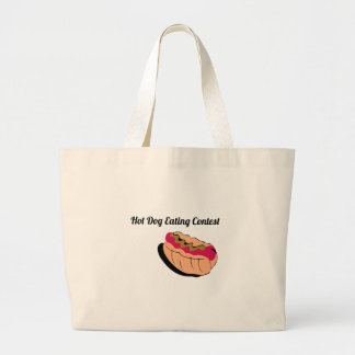 Hot Dog Eating Contest Tote Bag