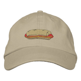Hot Dog Embroidered Hat