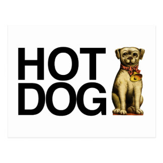 Hot Dog for pet lovers Postcard