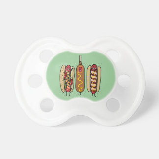 Hot Dog Friends Pacifier