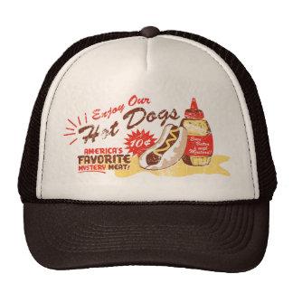 Hot Dog hat (brown/tan)