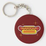 Hot Dog Key Chains