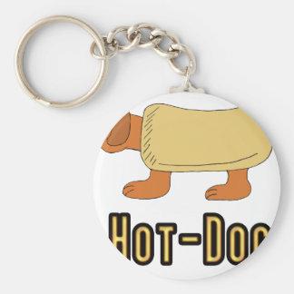 Hot Dog Key Ring