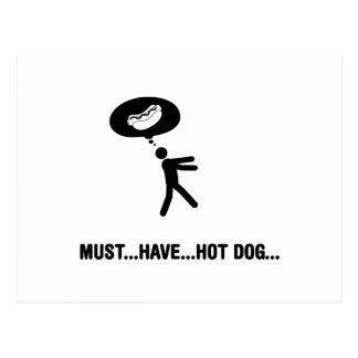 Hot Dog Lover Postcard