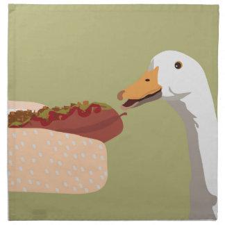 hot dog napkin
