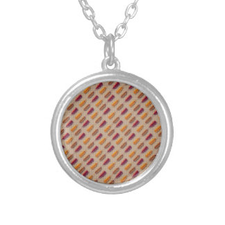 Hot dog pattern jewelry