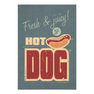 Hot Dog Photo Print