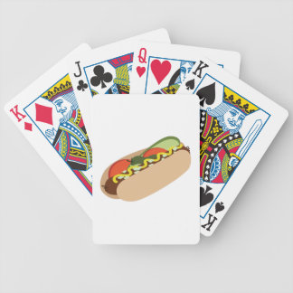 Hot Dog Bicycle Poker Cards