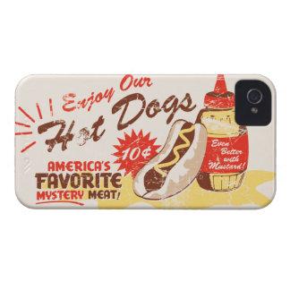 Hot Dog Retro iPhone Case iPhone 4 Cases