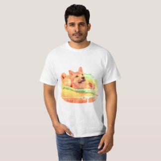 Hot Dog Shiba t-Shirt
