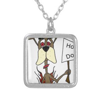 Hot dog sign jewelry