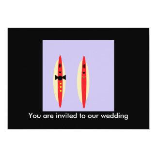 Hot Dog Wedding Card