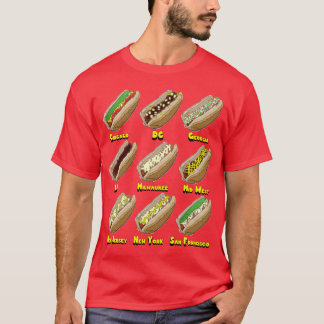 Hot Dogs Across America T-Shirt