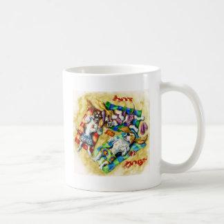 Hot Dogs Basic White Mug