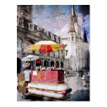Hot Dogs in the Vieux Carre Post Card