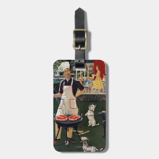 Hot Dogs Luggage Tag