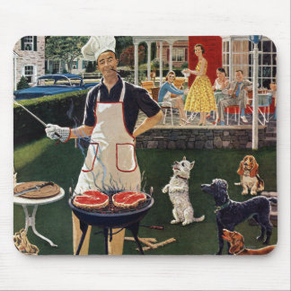 Hot Dogs Mouse Pad