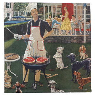 Hot Dogs Napkin