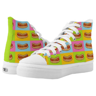 Hot dogs shoes