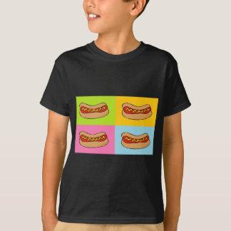 hot dogs tiled design T-Shirt