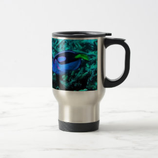 HOT DRINK - COLD WEATHER - SNOWY SCENE STAINLESS STEEL TRAVEL MUG