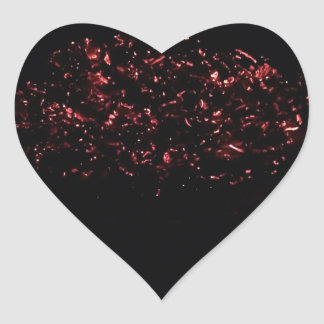 Hot Embers Heart Sticker- 20 count Heart Sticker