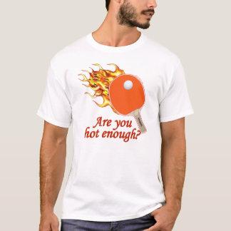 Hot Enough Flaming Ping Pong T-Shirt