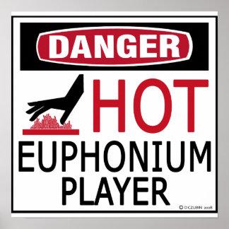 Hot Euphonium Player Poster
