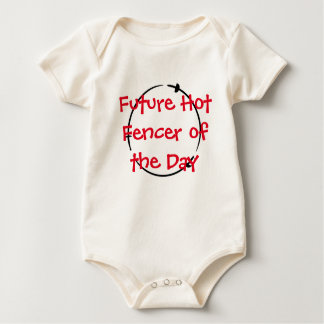 Hot Fencer Of The Day - Future Hot Fencer Baby Bodysuit