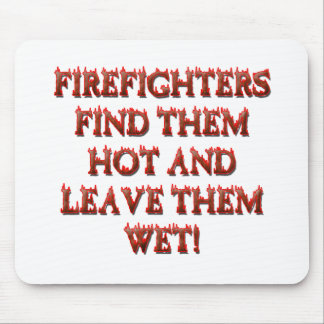 HOT FIREFIGHTERS MOUSE PAD