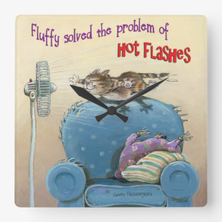 Hot Flashes Clocks