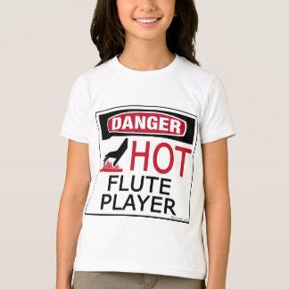 Hot Flute Player T-Shirt