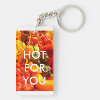 Hot For You chilli keychain