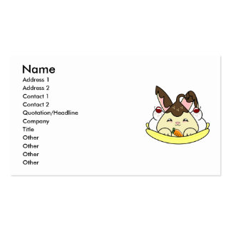 Hot Fudge Vanilla Hopdrop Split Business Card