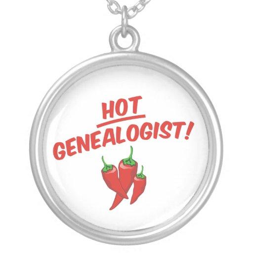 Hot Genealogist Pendants