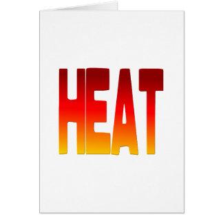 hot greeting card