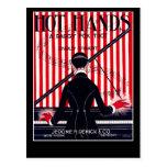 Hot Hands Rag Music Cover Postcard